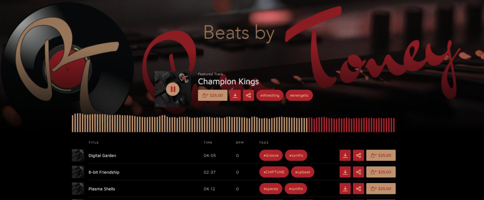Beat Store Screenshot