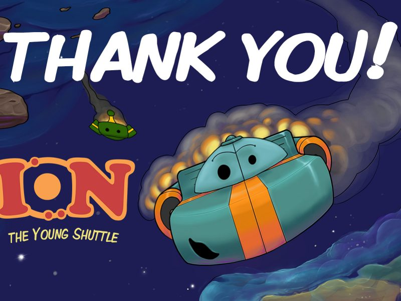 Ion the Young Shuttle: A Crowdfunding Success!